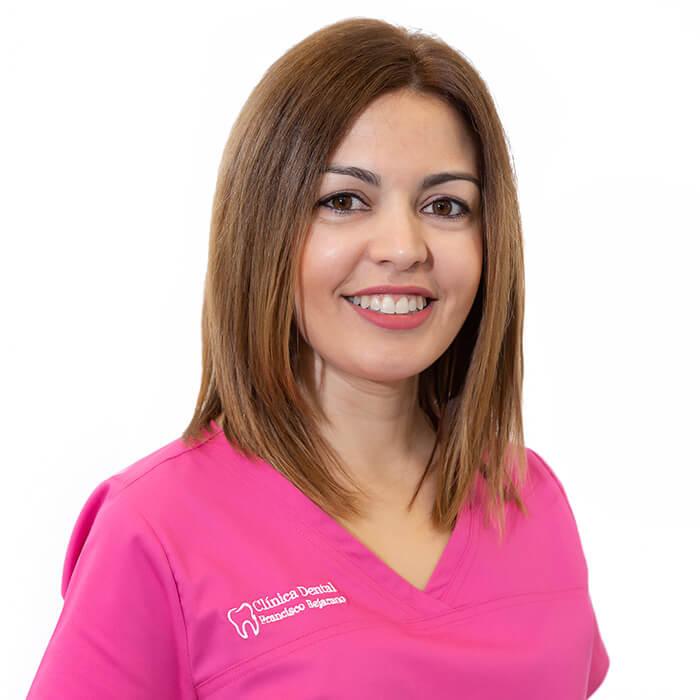 Carmen Gómez. Higienista